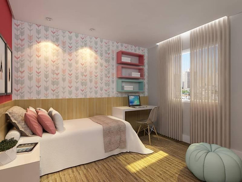 apartamento sem condomínio, 50m², 2 dormitórios, suíte, 2 vagas, vila scarpelli, santo andré. - ap1407