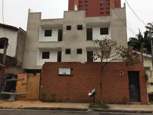 apartamento sem condomínio com 2 dormitórios, 1 suíte, bairro jardim, santo andré - ap1661