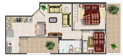 apartamento sem condomínio à venda, vila curuçá, santo andré. - ap7873