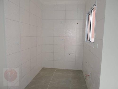 apartamento sem condomínio à venda, vila humaitá, santo andré. - ap7866