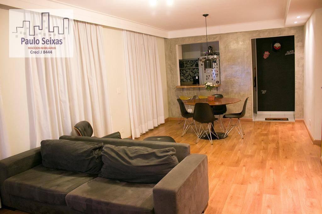 apartamento semi-novo à venda, vila romana, são paulo. - ap0027