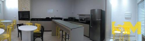 apartamento semimobiliado com 2 dormitórios para alugar, 51 m² por r$ 1.200/mês - anita garibaldi - joinville/sc - ap0097
