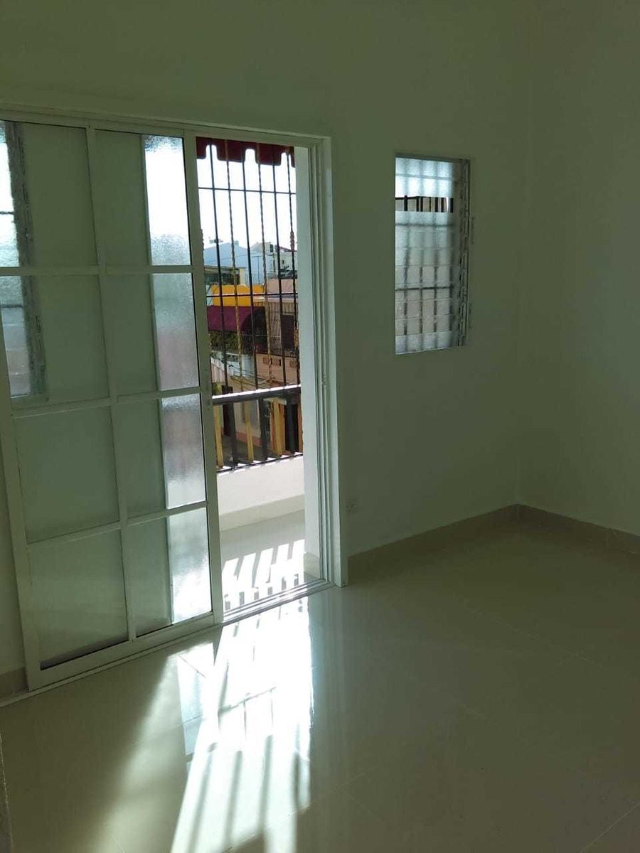 apartamento sin amoblar ciudad nueva zona colonial de 2 habs