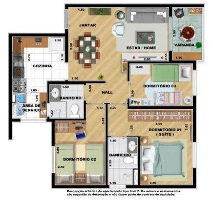 apartamento são bernardo baeta neves 3 dormitórios 2 vagas
