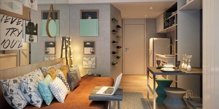 apartamento studio na praça da sé! - - 6812