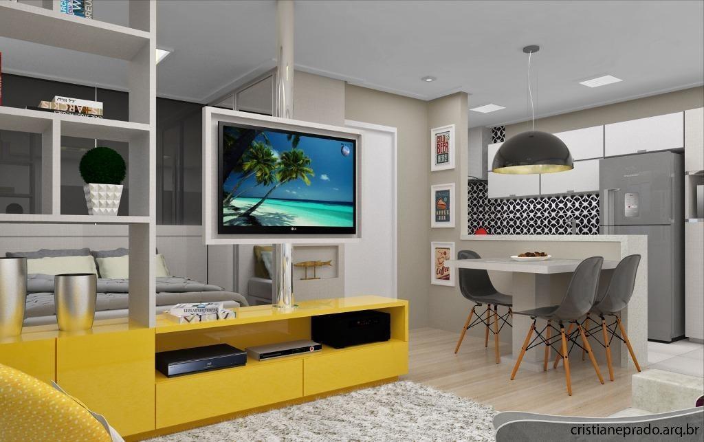 apartamento (studio)  residencial à venda (nunca habitado), osvaldo cruz, são caetano do sul. - ap3417. - ap3417