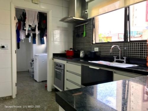 apartamento tatuape  190m² permuta - 252 - 33270527