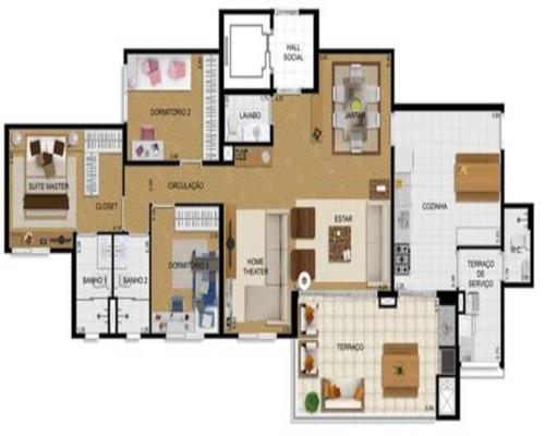 apartamento tatuape   ligue  98551-2000 - 632 - 32440169