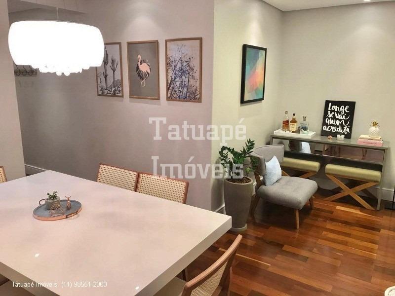 apartamento tatuapé mobiliado rua nova jerusalém