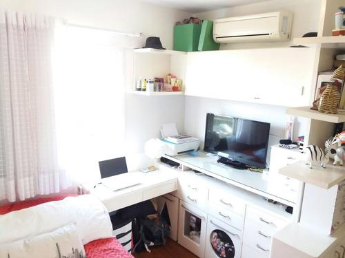 apartamento tatuapé, rua itapura - 91m²