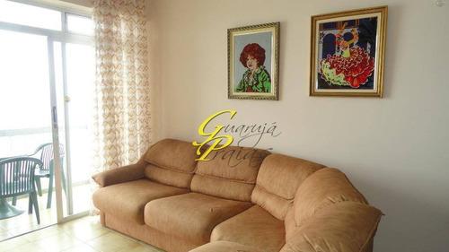 apartamento temporada para locação, pitangueiras, guarujá - ap0061. - ap0061