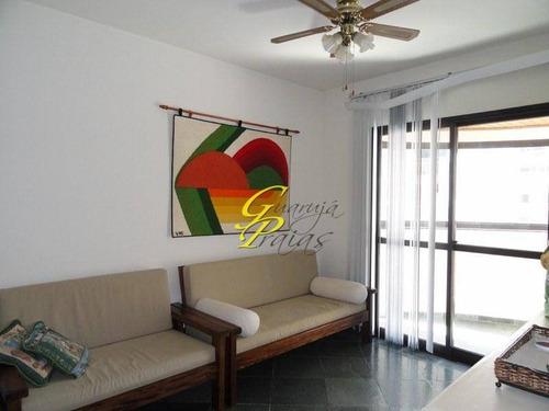 apartamento temporada para locação, pitangueiras, guarujá - ap0124. - ap0124