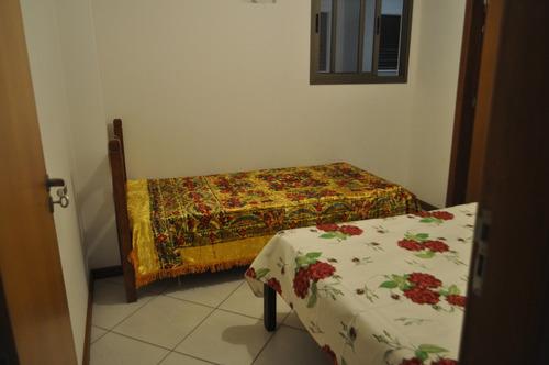 apartamento temporada praia do morro, 3 quartos, 3 banhos