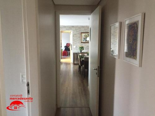 apartamento terraco garden vila mascote 204 m² - v-781
