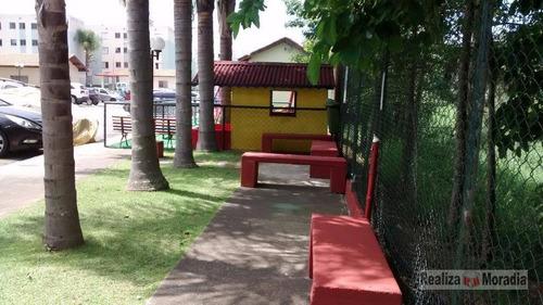 apartamento térreo com dois dormitórios - jardim da glória - cotia - ap0320
