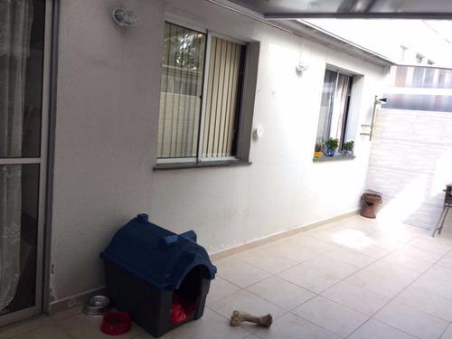 apartamento térreo com quintal parque do carmo - 2 dorm 1 vg