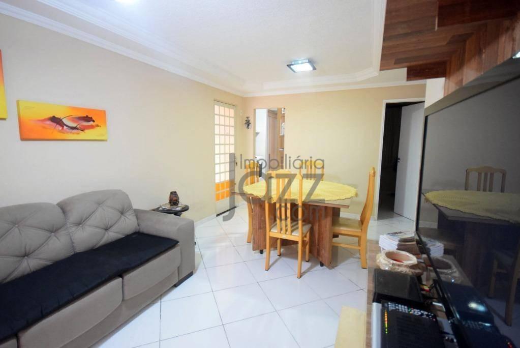 apartamento térreo mod, beatríz no villa flora em sumaré - ap1343
