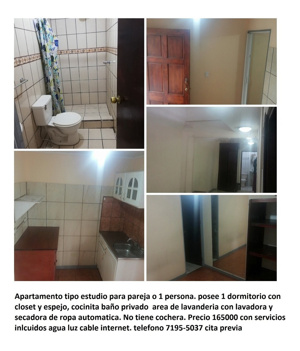 apartamento tipo estudio san sebastian