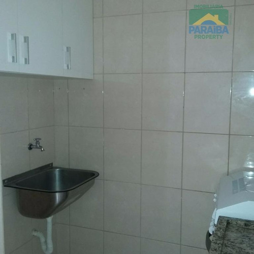 apartamento tipo flat  residencial a beira mar - venda, cabo branco, joão pessoa. - fl0016