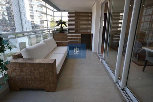 apartamento todo mobiliado - alphaville - nw58
