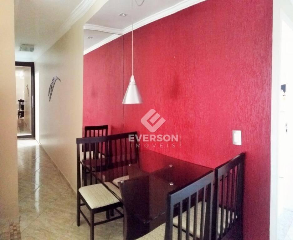 apartamento todo mobiliado, com 2 dormitórios para alugar, 68 m² por r$ 1.668 - alto do santana - rio claro/sp - ap0027
