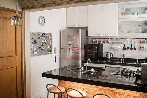 apartamento todo mobiliado para locação - jardim ester - são paulo - ap0142