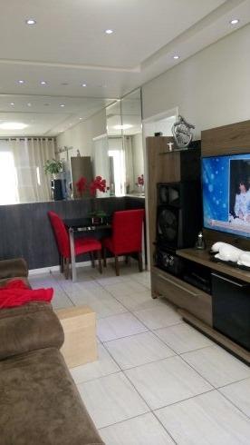 apartamento todo reformado na av.sta.catarina c/02dorm.!!