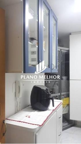 apartamento totalmente mobiliado com 2 dormitórios e 1 vaga com 52m² na penha / vila ré (metro / bancos / magazines) - ap1340 - ap1340