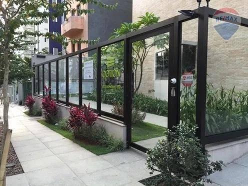 apartamento totalmente mobiliado para alugar, 38 m² por r$ 4.750/mês - paraíso - são paulo/sp - ap9596