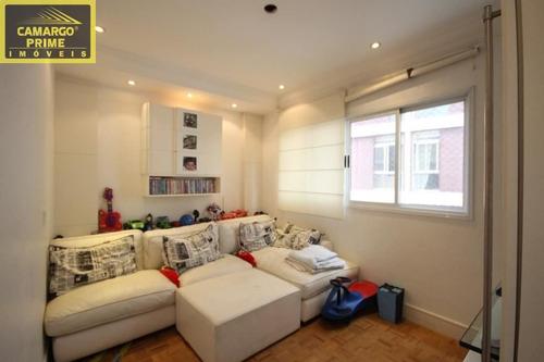apartamento totalmente reformado, com 220,00 m² área útil - eb78874