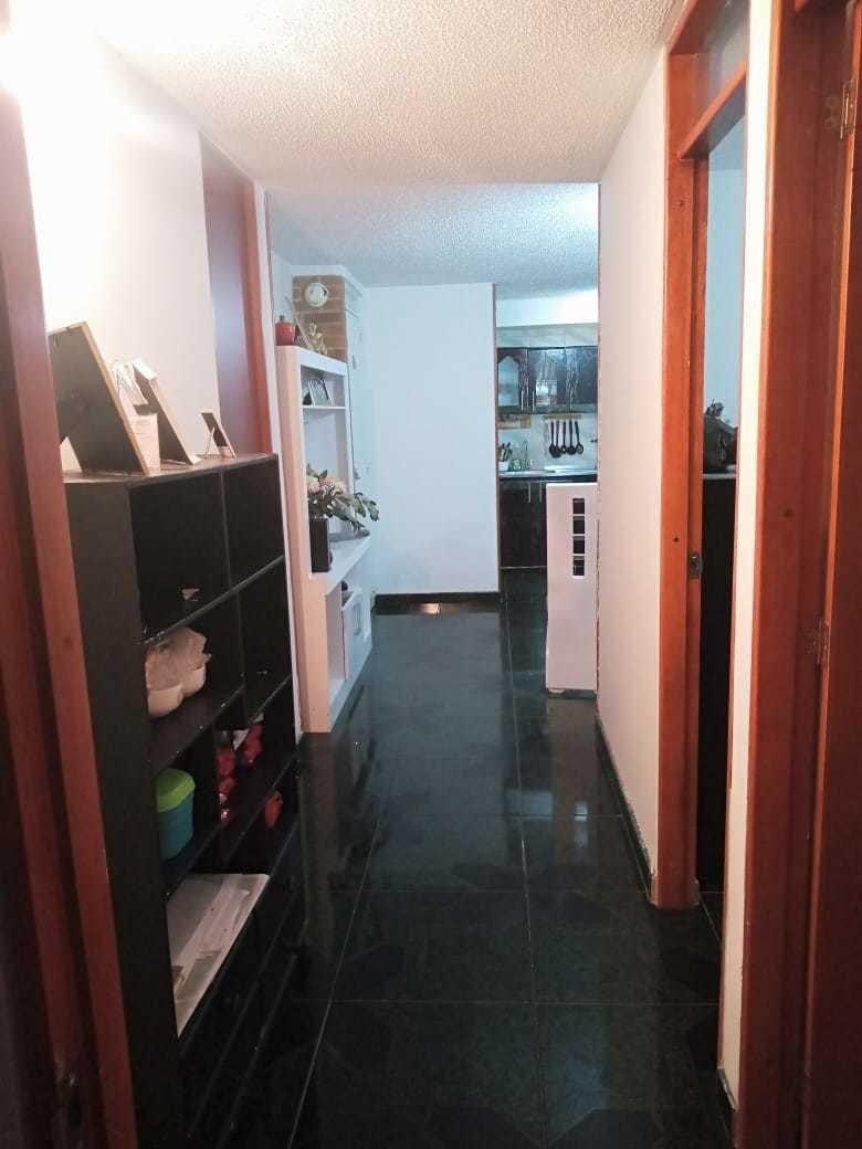 apartamento  tres abitaciones con closets 2 baños cocina int