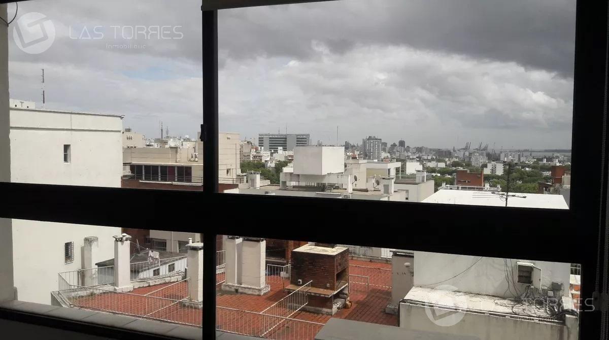 apartamento - tres cruces prox a terminal, piso alto con hermosas vistas