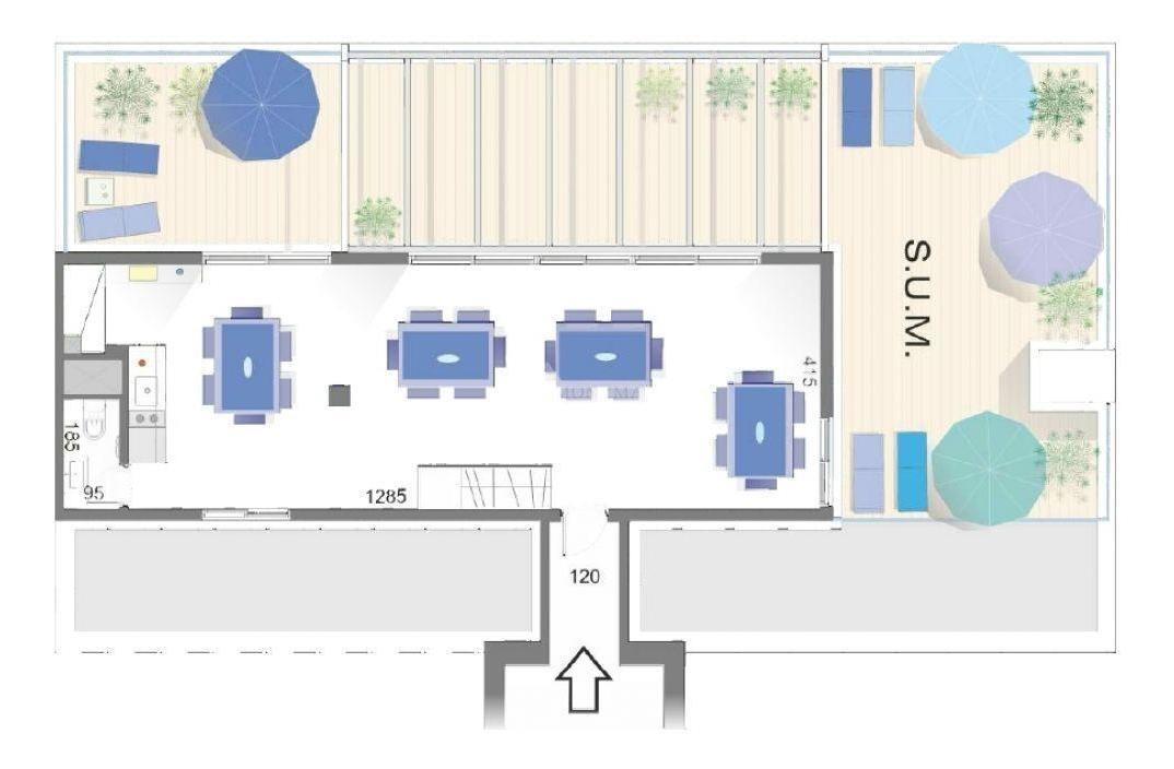 apartamento tres cruces venta 1 dormitorio  cassinoni y haedo, torre cassinoni con 2 garajes!