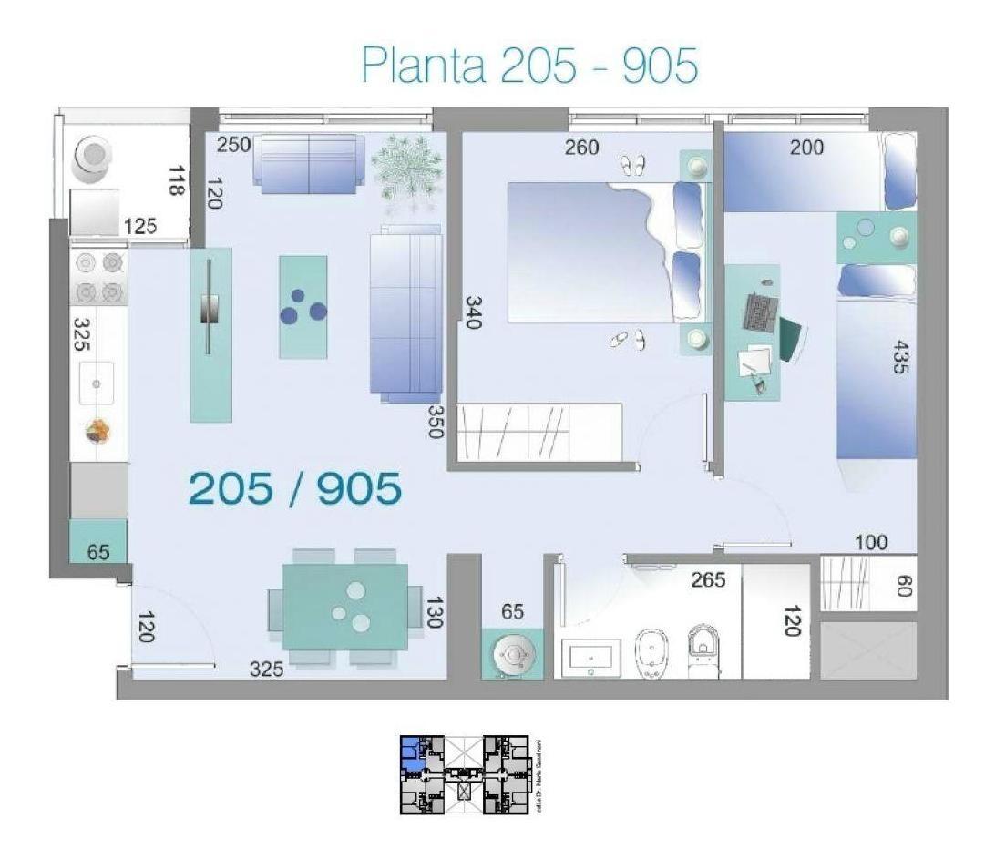 apartamento tres cruces venta 2 dormitorios cassinoni y haedo, torre cassinoni con garaje