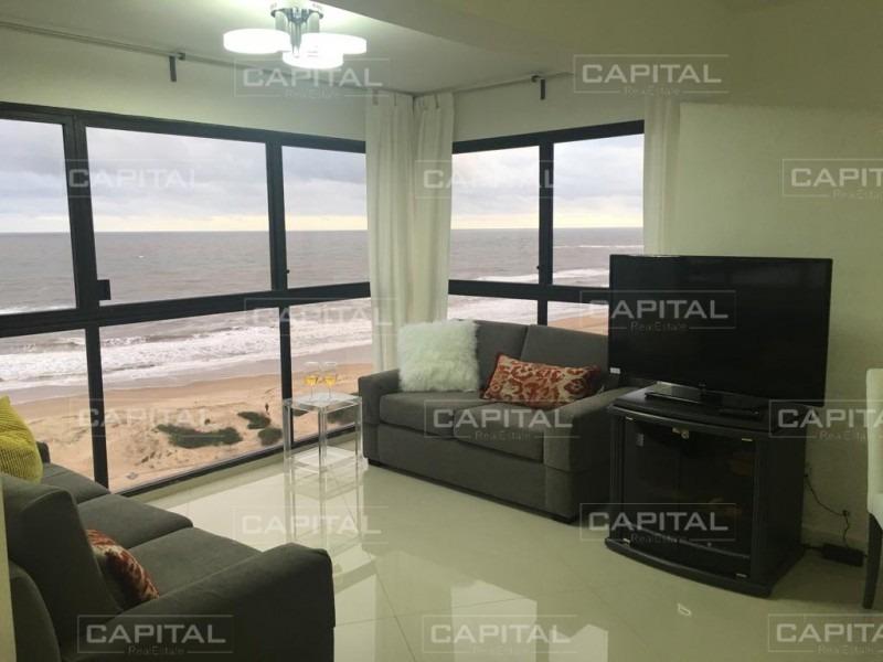 apartamento tres dormitorios en venta playa brava punta del este-ref:26726