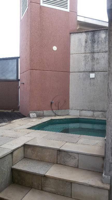 apartamento triplex residencial à venda, bairro jardim, santo andré. - at0003