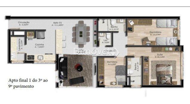 apartamento - tristeza - ref: 13094 - v-13094