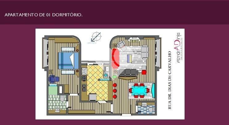 apartamento - tristeza - ref: 40328 - v-58462506
