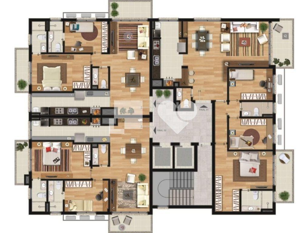 apartamento - tristeza - ref: 7743 - v-306811