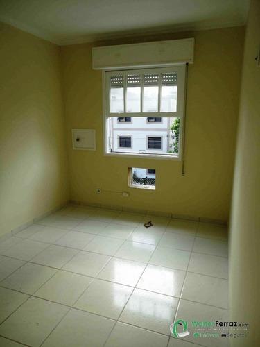 apartamento, três dormitórios, gonzaga, santos. - ap0118