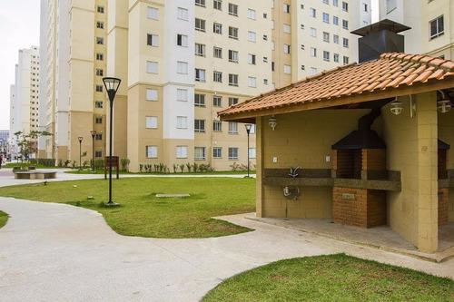 apartamento único em guarulhos 45m 2dorms 1vaga 215mil
