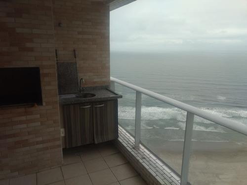 apartamento varanda gourmet em paria grande vista ao mar