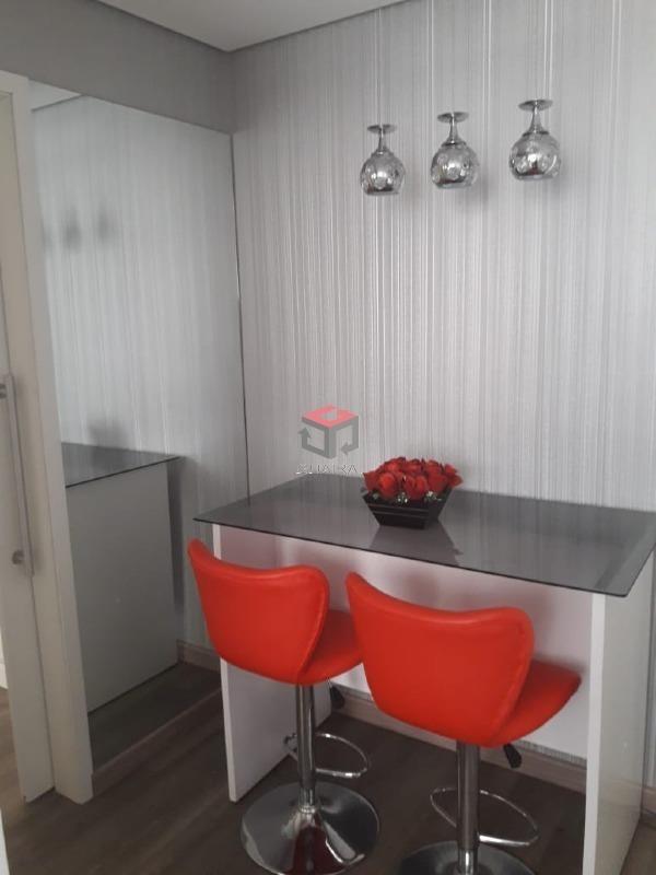 apartamento à venda, 1 quarto, 1 vaga, boa vista - são caetano do sul/sp - 75056