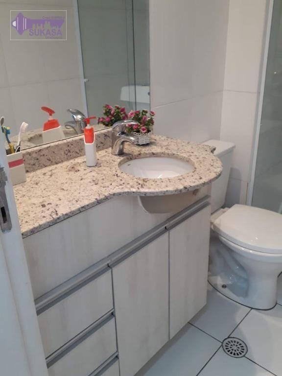 apartamento à venda, 100 m² por r$ 585.000,00 - vila pires - santo andré/sp - ap1015