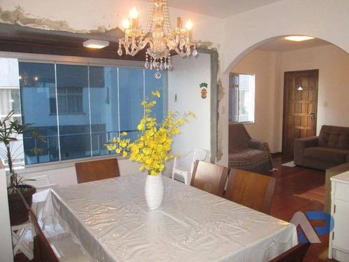 apartamento à venda, 108 m² por r$ 380.000,00 - rio vermelho - salvador/ba - ap0056