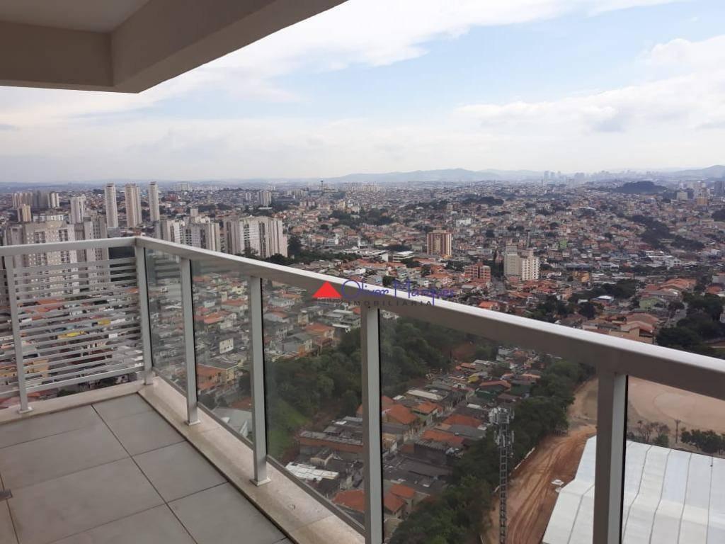 apartamento à venda, 109 m² por r$ 751.000,00 - vila são francisco - osasco/sp - ap6656