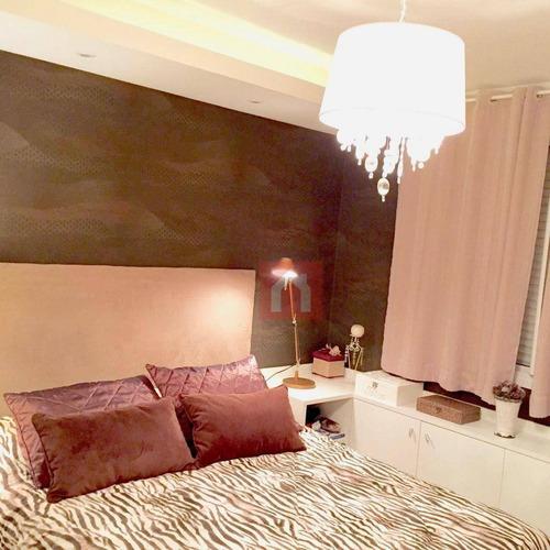 apartamento à venda, 110 m² por r$ 540.000,00 - cristo redentor - caxias do sul/rs - ap0604