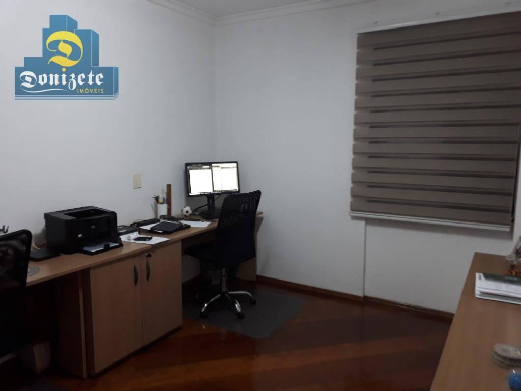 apartamento à venda, 110 m² por r$ 549.000,00 - centro - santo andré/sp - ap9377