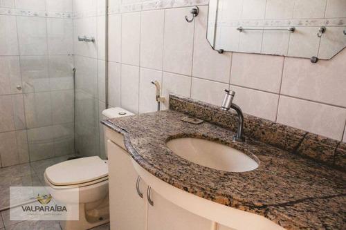 apartamento à venda, 118 m² por r$ 435.000,00 - jardim satélite - são josé dos campos/sp - ap0476