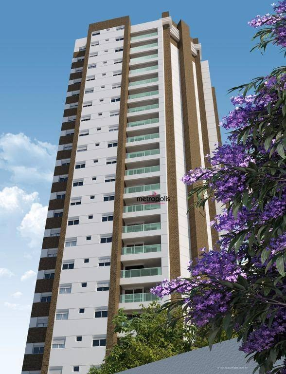 apartamento à venda, 119 m² por r$ 780.000,00 - santa paula - são caetano do sul/sp - ap0707
